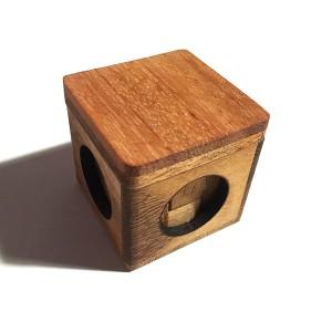"""Tabby Cube"" Wooden Building Blocks (LG004)"