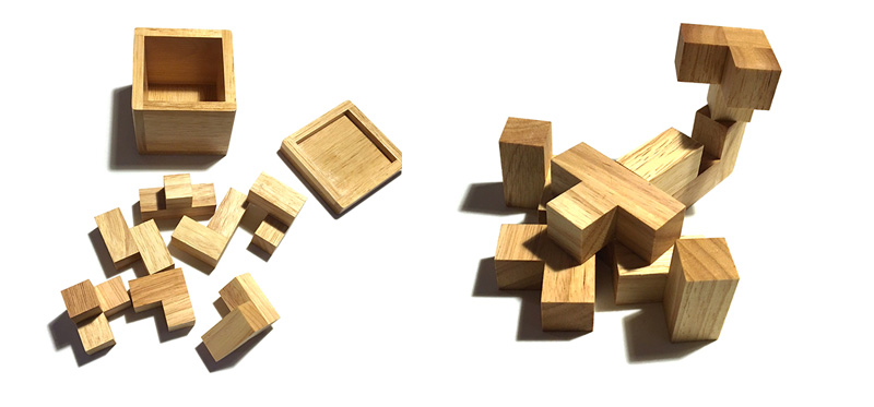 Wooden Building Blocks for Kids